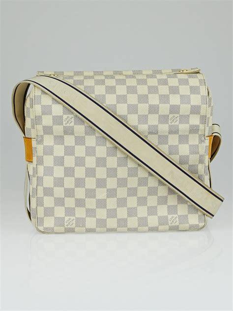 Louis Vuitton Damier Azur Naviglio by Louis Vuitton Damier Azur Canvas Naviglio Messenger Bag