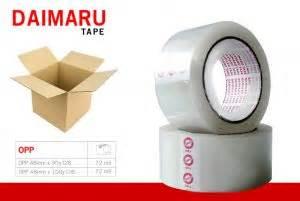 Lakban Bening 2 Inc 90 Y daimaru opp 48mm x 90y transparant lakban bening