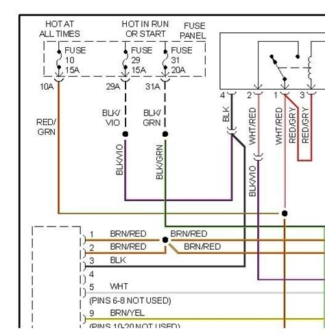2000 vw beetle stereo wiring diagram wiring diagram with