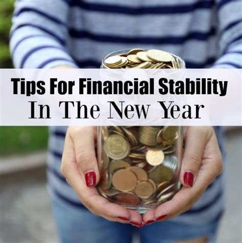 tips  financial stability