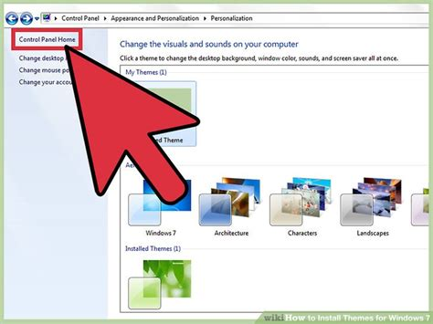 themes for windows 7 installer how to install themes for windows 7 with pictures wikihow