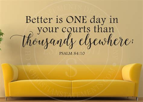 better is one day better is one day in your courts vinyl wall statement