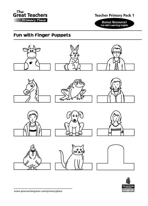 paper finger puppets templates animal finger puppet templates search kağıt