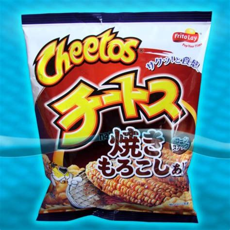 Japans New Snack Strawberry Cheetos by Japanese Cheetos Grilled Corn Yaki Morokoshi Frito Lay