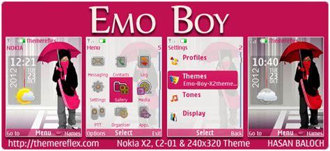 themes nokia c3 emo emo boy theme for nokia c3 x2 01 asha 200 201 302