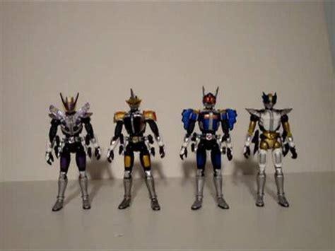 Shoucoku Henshin Series Masked Rider Garen soundout review souchaku henshin series kamen rider den o sword rod axe gun and wing