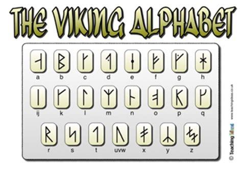 the viking alphabet | teaching ideas
