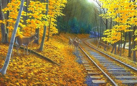 7 Gorgeous Animal Prints For Fall by Fall Deer Tracks Deer Animals Background Wallpapers