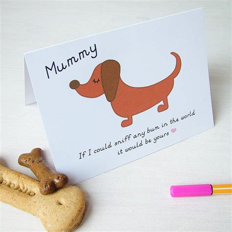 dogs cards mothers day card from your by hoobynoo notonthehighstreet