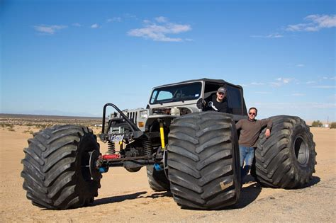 monster jeep 1989 jeep wrangler street legal ultimate rock crawler