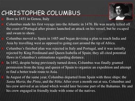 christopher columbus biography deutsch christopher columbus thinglink