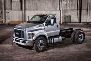 Trucks Ford 2016 Ford F 650 And F 750 Commercial Truck Look