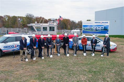 boatus geico marine insurance break ground for new - Geico Marine Insurance Alexandria Va