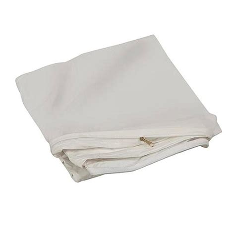 Zippered Crib Mattress Cover Crib Size Zippered Mattress Cover Vinyl Toddler Bed Allergy Dust Bug Protector Ebay