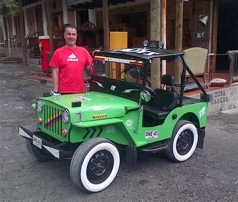 electric jeep electric jeep out of colombia 3700 plus shipping ewillys