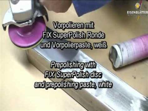 Stahl Spiegelglanz Polieren by Spiegelglanz Polieren Auf Edelstahl Rohren Doovi