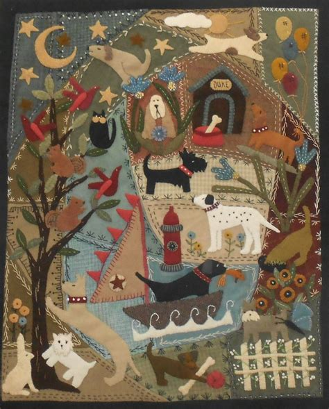 Wool Applique Quilt by 17 Best Images About Aplike On Quilt Applique