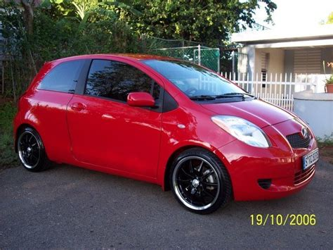 Lowering Kit Jazz Yaris garkeon 2006 toyota yaris specs photos modification info at cardomain
