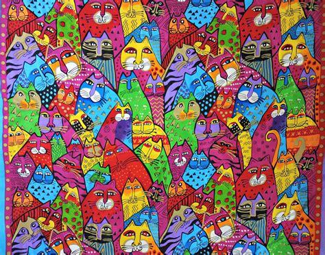 laurel burch felines vintage laurel burch silk scarf colorful cats