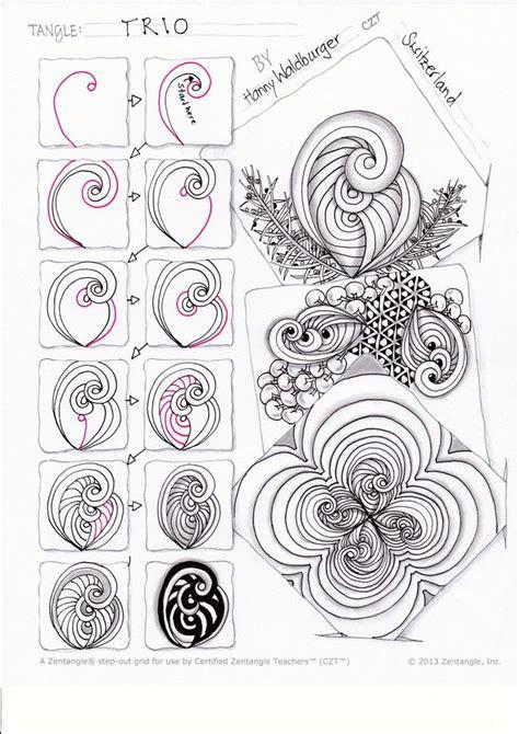 Zentangle Pattern Ibex | 2440 best zentangle for beginners images on pinterest