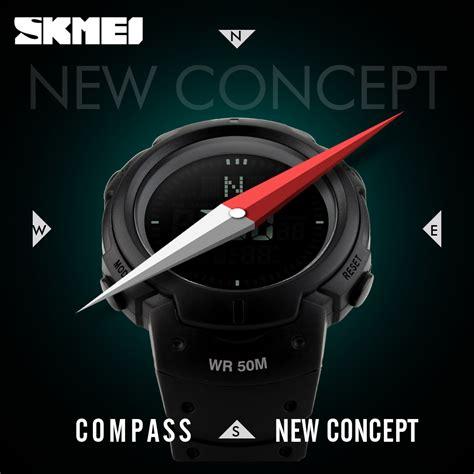 Skmei Jam Tangan Digital Pria Original Dg1231cm With Baru skmei jam tangan digital pria dg1231cm black