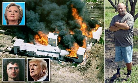 how far is it to the branch dividian to magnolia farms pastor charles pace blames clinton for manipulating waco slaughter daily mail