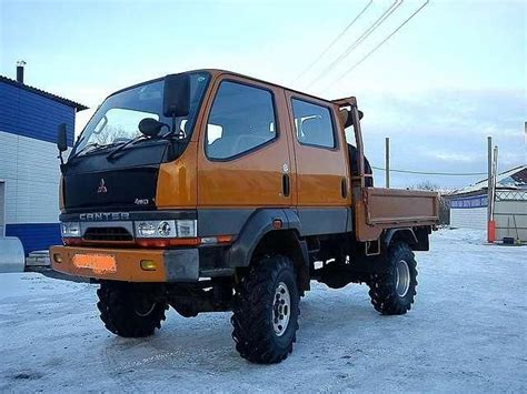 mitsubishi mini truck lifted mitsubishi canter 4wd 1993 trucks overland pinterest