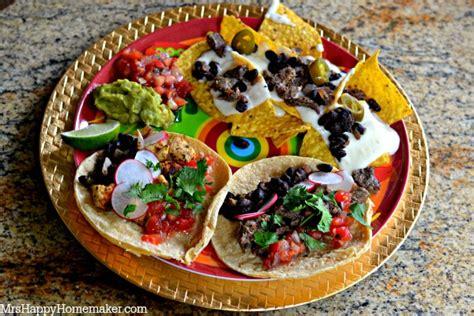 toppings for nacho bar taco nacho bar mrs happy homemaker