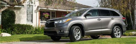 Length Of Toyota Highlander New 2016 Toyota Highlander Features And Specs