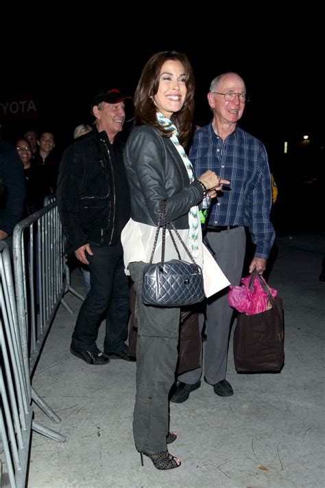 Get Look Teri Hatchers Swarovski Clutch From Clothes Our Back by More Pics Of Teri Hatcher Cutout Boots 1 Of 12 Cutout