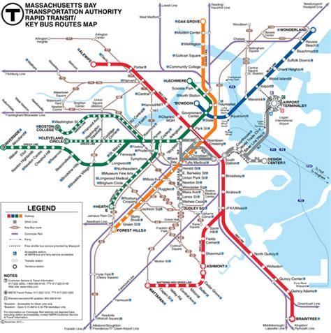 Red Line Boston Map by Next Stop Boston Bu Today Boston University