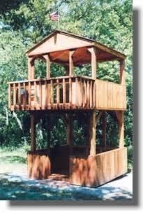 woodwork playhouse plans raised pdf plans
