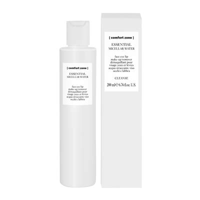 comfort zone products comfort zone essential micellar water 200ml feelunique