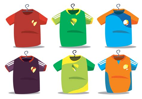 football jersey design vector futsal jersey vector set download free vector art stock