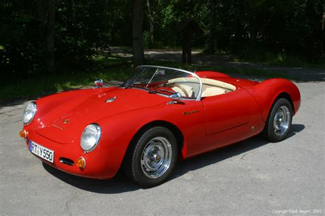 porsche 550 spyder replica photos and comments www
