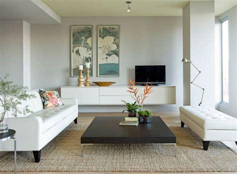 floating living room furniture home decorating trends