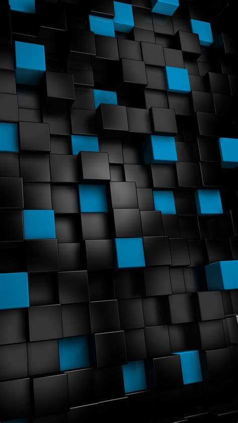blue abstract android wallpapers 960x800 hd phone screensavers abstract black cubes htc one wallpaper best htc one