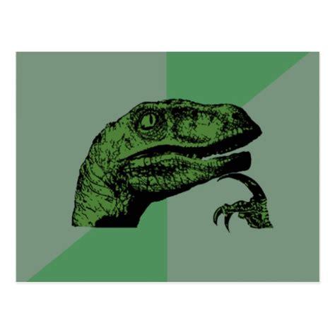 Thinking Dinosaur Meme - dinosaur philosoraptor meme