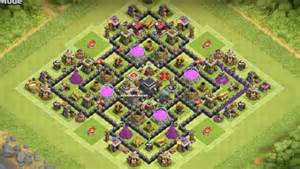 Town hall 9 farm base dark elixir protection th9 farming base dark