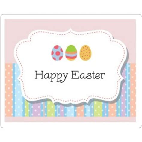 egg labels template templates easter egg stripes print to the edge pearlized rectangle labels 6 per sheet avery