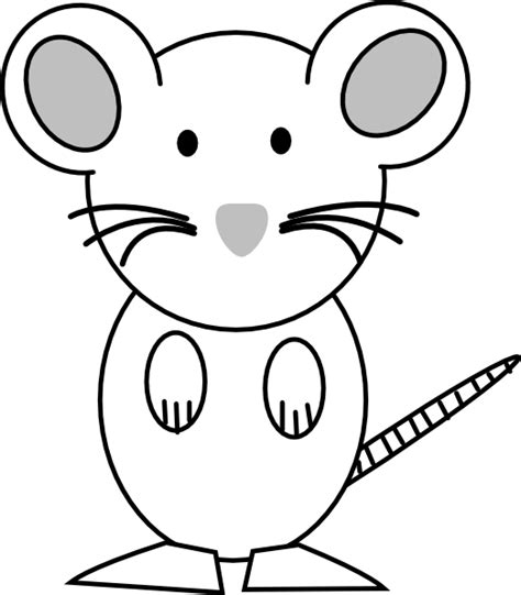 Mouse Coloring Page Coloring Lab Mouse Coloring Pages