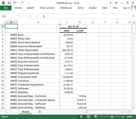 28 trial balance worksheet excel for the pro s