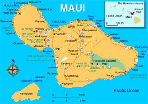 printable road map maui hawaii maui map can you find kihei maui funny business flickr