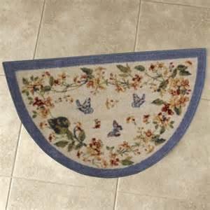 butterfly fields kitchen slice rug shop nwf