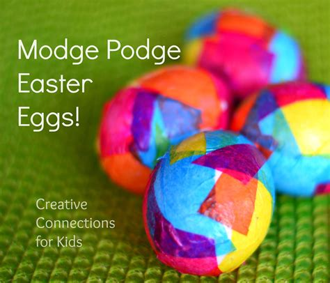 amazing easter eggs modge podge easter eggs