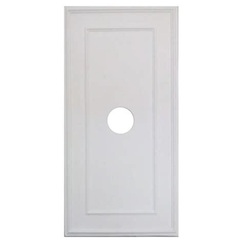 polyurethane rectangular ceiling medallion rona