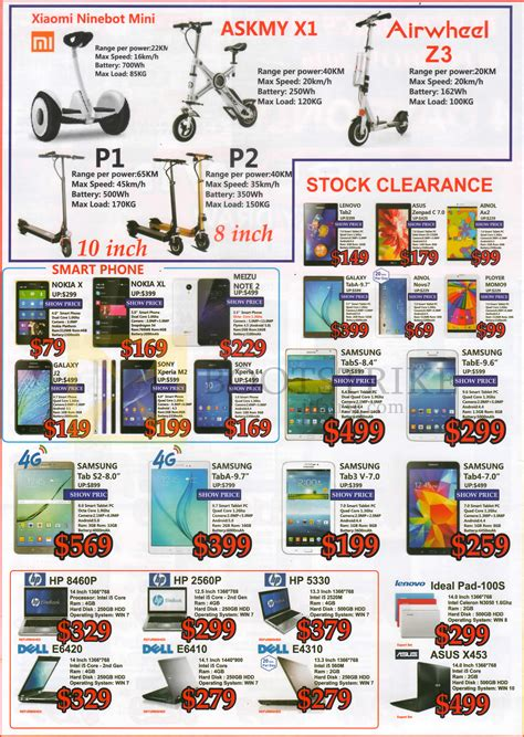 pc themes singapore price list sgvideopro e scooters smartphones tablets notebooks xiaomi