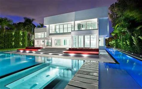 design house associates miami a modern house with a pool in miami home designs project