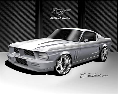 ford mustang prints 1967 1968 ford mustang prints posters by danny