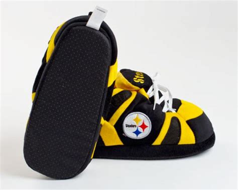 pittsburgh steelers slippers pittsburgh steelers slippers sports team slippers